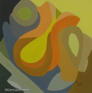 Homage to the 70's Abstract Art by Cori Solomon