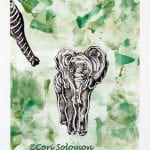 Elephant Walking by Cori Solomon