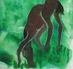 Horse: Grazing in the Grass by Cori Solomon