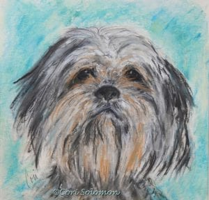 Mixed Breed Art by Cori Solomon