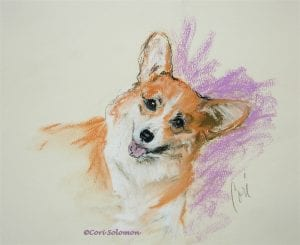 Pembroke Welsh Corgi by Cori Solomon