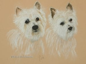 West Highland Terriers by Cori Solomon