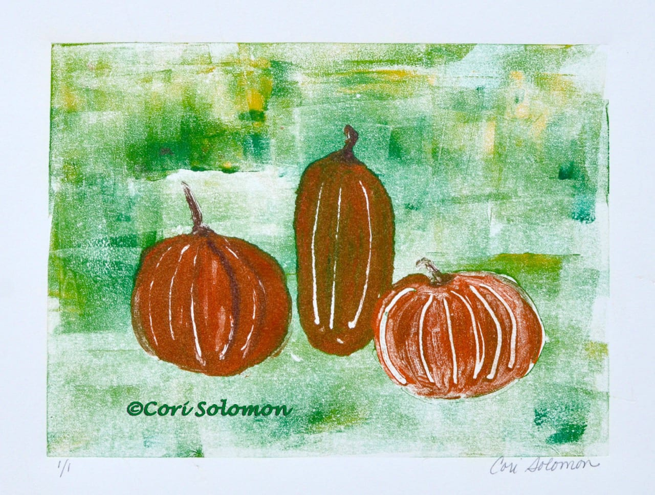 Harvest Time in the pumpkin patch by Cori Solomon