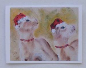Siamese Christmas by Cori Solomon
